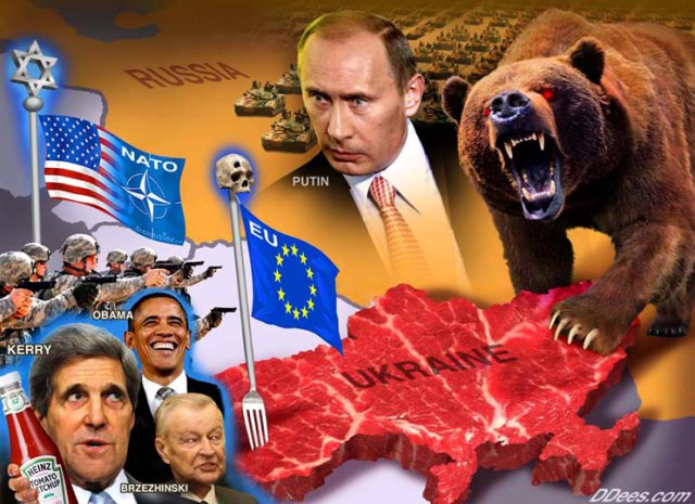 World_War_3-US_NATO_Ukraine_Russia_Bear_Putin_Obama